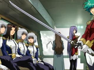 Revolver Sword